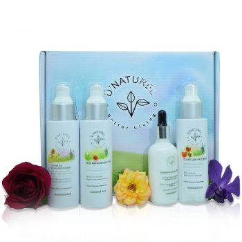 Natural acne and blemish set